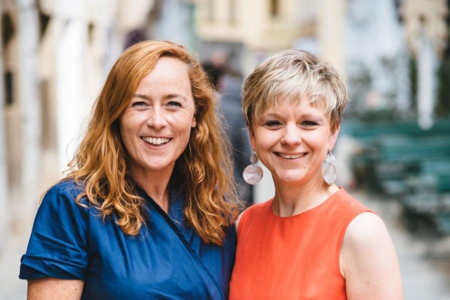 Das Zeitgeist-Team: Eva Maikisch, Event-Profi, Silke Ploder, PR-Profi