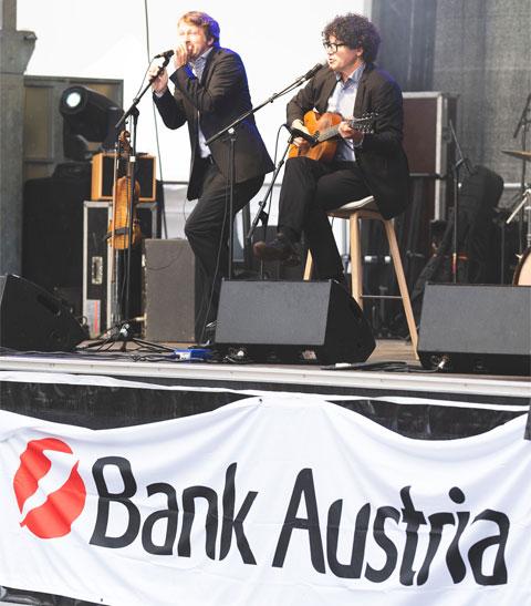 Eröffnung der Bank Austria Zentrale - Zeitgeist events & PR