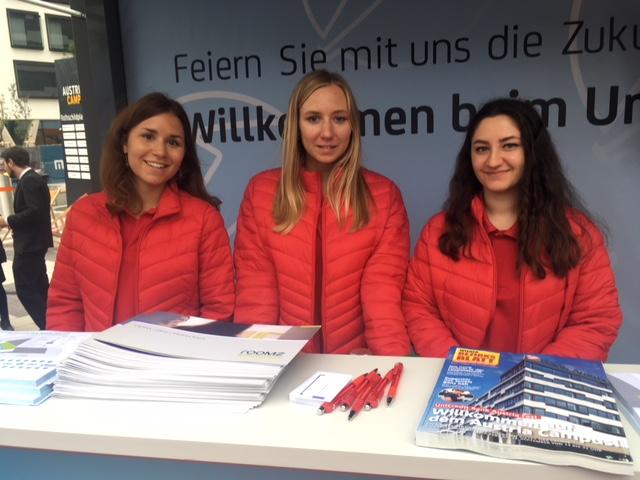 Promotoren Eröffnung Bank Austria Zentrale