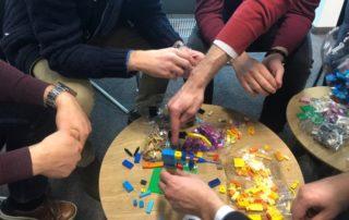 LEGO Bauen im Team mit Zeitgeist
