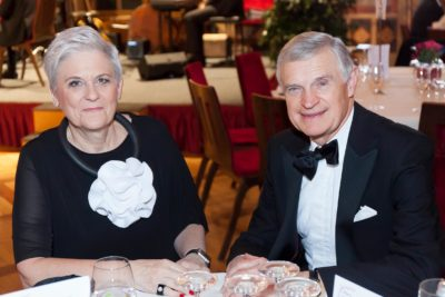 Lisbeth Bischoff und Thomas Schäfer Elmayer am Ländle Ball