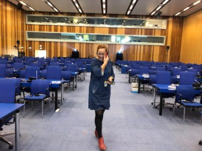 Das Team: Zeitgeist, UNO und Zero Projekt