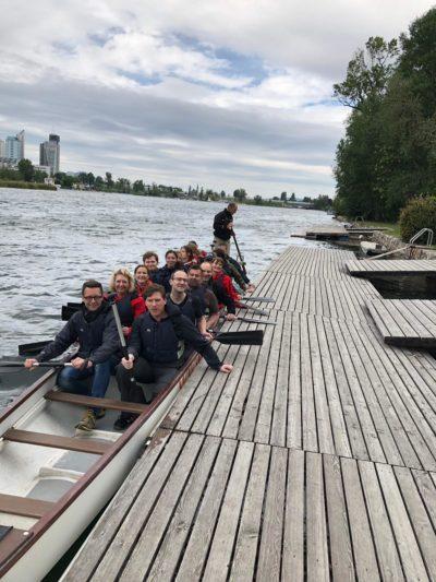 Drachenboot-Rennen organisiert durch Zeitgeist-Team