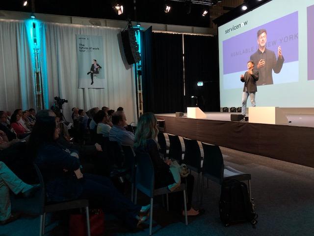 ServiceNow Keynote in Zürich. 3C Design und Zeitgeist events & PR