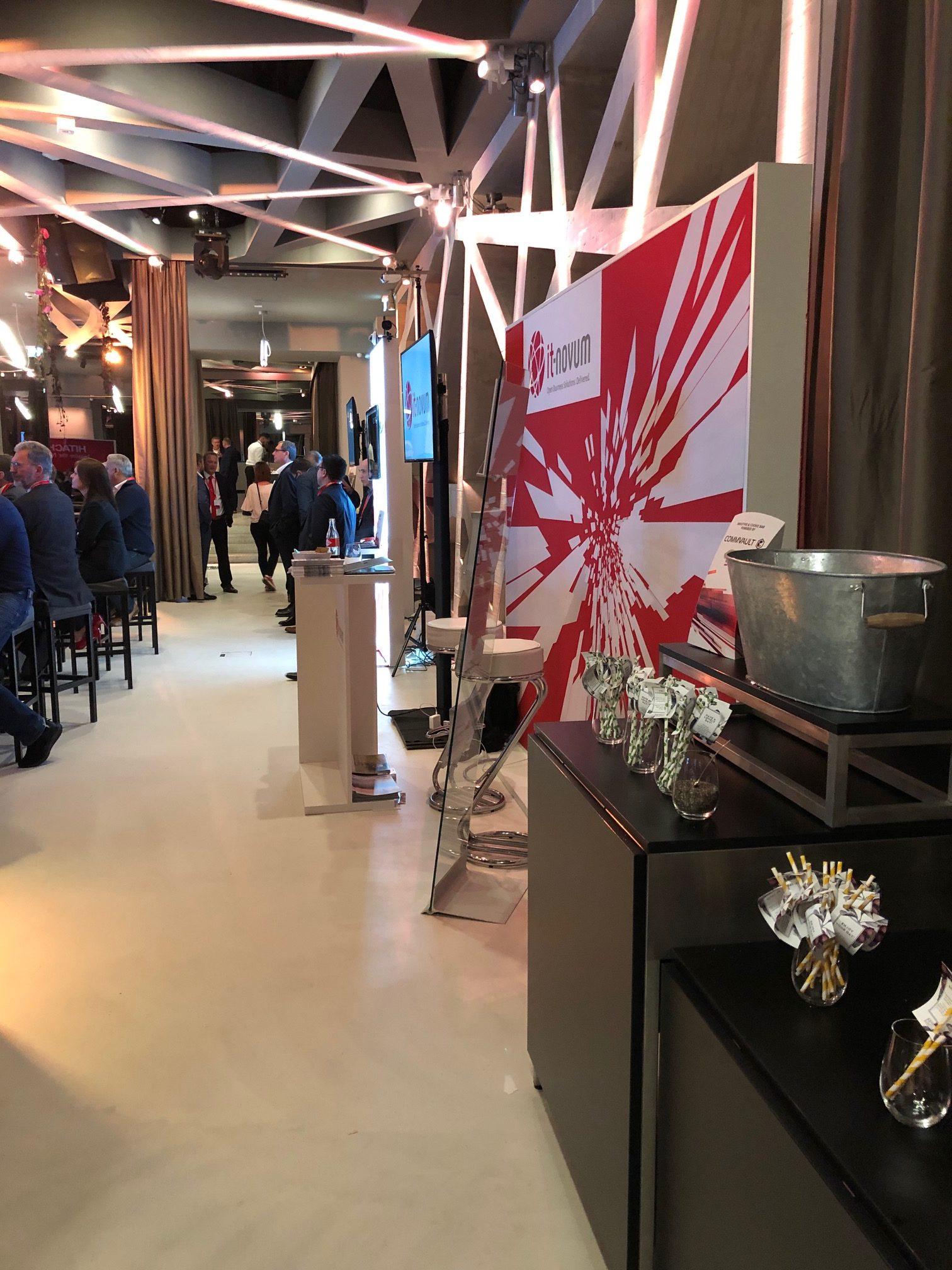 Info-Stände, Hitachi Vantara Forum 2019