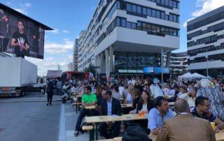 Gernot Kulis beim Bank Austria Fest