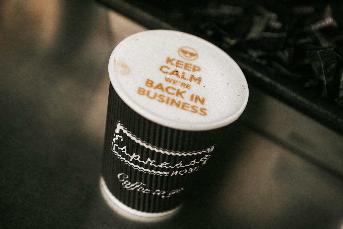 Zeitgeist und Espresso Mobil Kaffeegenuss